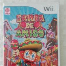 Videojuegos y Consolas: JUEGO NINTENDO WII SAMBA DE AMIGO. Lote 202680247