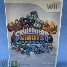 Videojuegos y Consolas: VIDEOJUEGOS - SKYLANDERS GIANTS - ACTIVISION - NINTENDO WII. Lote 203979185