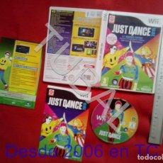 Videojuegos y Consolas: TUBAL JUST DANCE 2015 NINTENDO WII DVD4. Lote 204689556