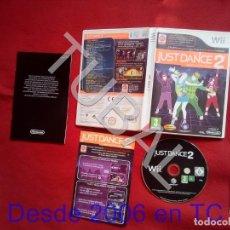 Videojuegos y Consolas: TUBAL JUST DANCE 2 NINTENDO WII DVD4. Lote 204689835