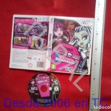 Videojuegos y Consolas: TUBAL MONSTER HIGH INSTITUTO MONSTRUOSO NINTENDO WII DVD4. Lote 204690377
