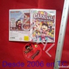 Videojuegos y Consolas: TUBAL CARNIVAL NINTENDO WII DVD4. Lote 204690750