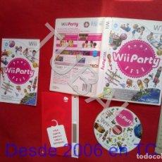 Videojuegos y Consolas: TUBAL WII PARTY PAL NINTENDO WII DVD4. Lote 204695085