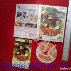 Videojuegos y Consolas: TUBAL DONKEY KONG JET RACE PAL NINTENDO WII DVD4. Lote 204695403