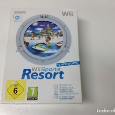 Videojuegos y Consolas: WII SPORTS RESORT + WII MOTION PLUS. Lote 205197407