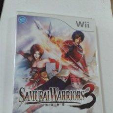 Videojuegos y Consolas: SAMURAI WARRIORS 3. WII. Lote 205318390
