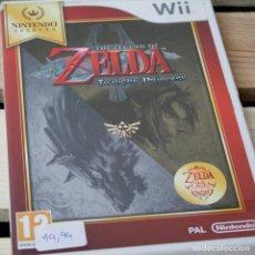 Videojuegos y Consolas: ZELDA. TWILIGHT PRINCESS - NINTENDO WII - VIDEOJUEGO SEGUNDA MANO. Lote 205889752