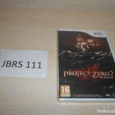 Videojuegos y Consolas: WII - PROJECT ZERO II WII EDITION , PAL ESPAÑOL , PRECINTADO. Lote 206158557