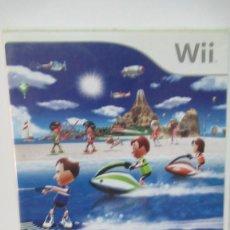 Videojuegos y Consolas: NINTENDO WII SPORT RESORT EN ESPAÑOL. AÑO 2009. SIN LIBRO DE INSTRUCCIONES. Lote 206218745