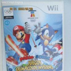 Videojuegos y Consolas: NINTENDO WII - MARIO & SONIC EN LOS JUEGOS OLÍMPICOS DE INVIERNO - VANCOUVER 2010.. Lote 206569123