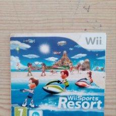 Videojuegos y Consolas: JUEGO NINTENDO WII - WII SPORTS RESORT - SIN JUEGO. Lote 254415960