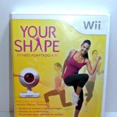Videojuegos y Consolas: JUEGO WII YOUR SAHPE FITNES ADAPTADO A TI. Lote 207701081