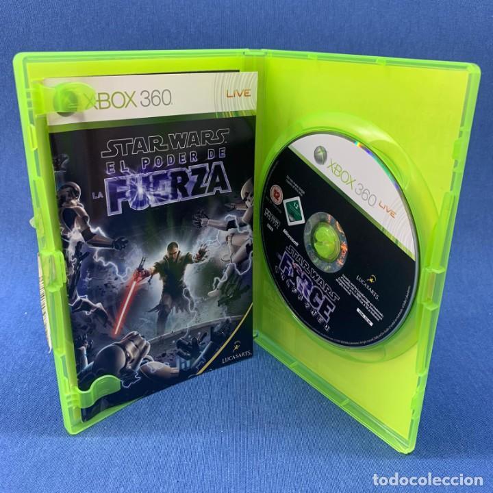 Videojuegos y Consolas: VIDEOJUEGO - MICROSOFT XBOX 360 - STAR WARS EL PODER DE LA FUERZA + INSTRUCCIONES - Foto 2 - 209184495
