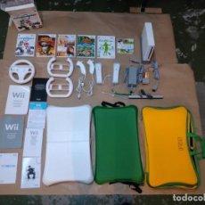 Videojuegos y Consolas: WII CON 6 JUEGOS Y TABLA BALANCE BOARD. Lote 210777721