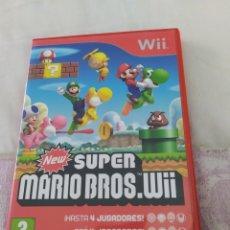 Videojuegos y Consolas: NEW SUPER MARIO BROS WII. Lote 210951129