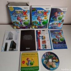 Videojuegos y Consolas: SUPER MARIO GALAXY 2 ED. LIMITADA COLECCIONISTA CON DVD NINTENDO WII. Lote 210977545