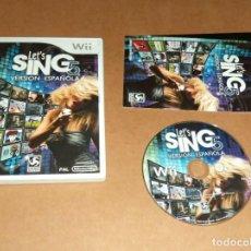 Videojuegos y Consolas: LET'S SING 5 : VERSION ESPAÑOLA PARA NINTENDO WII, PAL. Lote 210978902