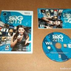 Videojuegos y Consolas: LET'S SING 2014 PARA NINTENDO WII, PAL. Lote 210978969