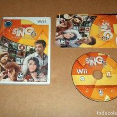Videojuegos y Consolas: LET'S SING 6 : VERSION ESPAÑOLA PARA NINTENDO WII, PAL. Lote 210979020