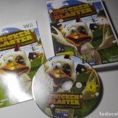 Videojuegos y Consolas: CHICKEN BLASTER ( NINTENDO WII - PAL - ESPAÑA). Lote 211950762