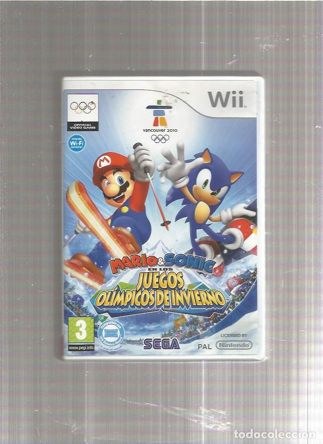 MARIO SONIC JUEGOS OLIMPICOS DE INVIERNO (Juguetes - Videojuegos y Consolas - Nintendo - Wii)