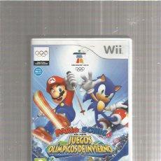Videojuegos y Consolas: MARIO SONIC JUEGOS OLIMPICOS DE INVIERNO. Lote 212057407