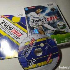 Videojuegos y Consolas: PRO EVOLUTION SOCCER 2013 ( NINTENDO WII - WII U - PAL -ESP). Lote 212867422