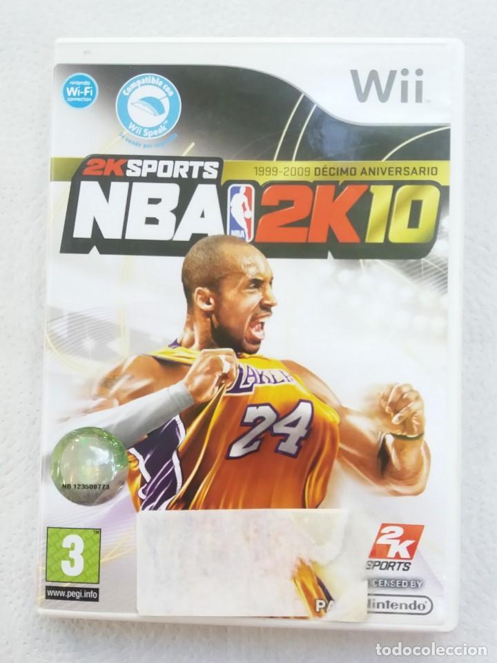 JUEGO NINTENDO WII NBA 2K10 SPORTS (Juguetes - Videojuegos y Consolas - Nintendo - Wii)