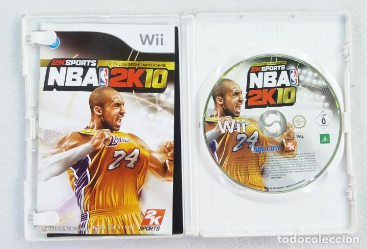 Videojuegos y Consolas: JUEGO NINTENDO Wii NBA 2K10 SPORTS - Foto 2 - 215072173