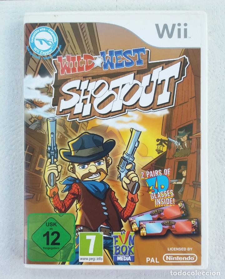 JUEGO NINTENDO WII WILD WEST SHOOT OUT (Juguetes - Videojuegos y Consolas - Nintendo - Wii)