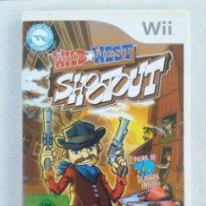 Videojuegos y Consolas: JUEGO NINTENDO WII WILD WEST SHOOT OUT. Lote 215072492
