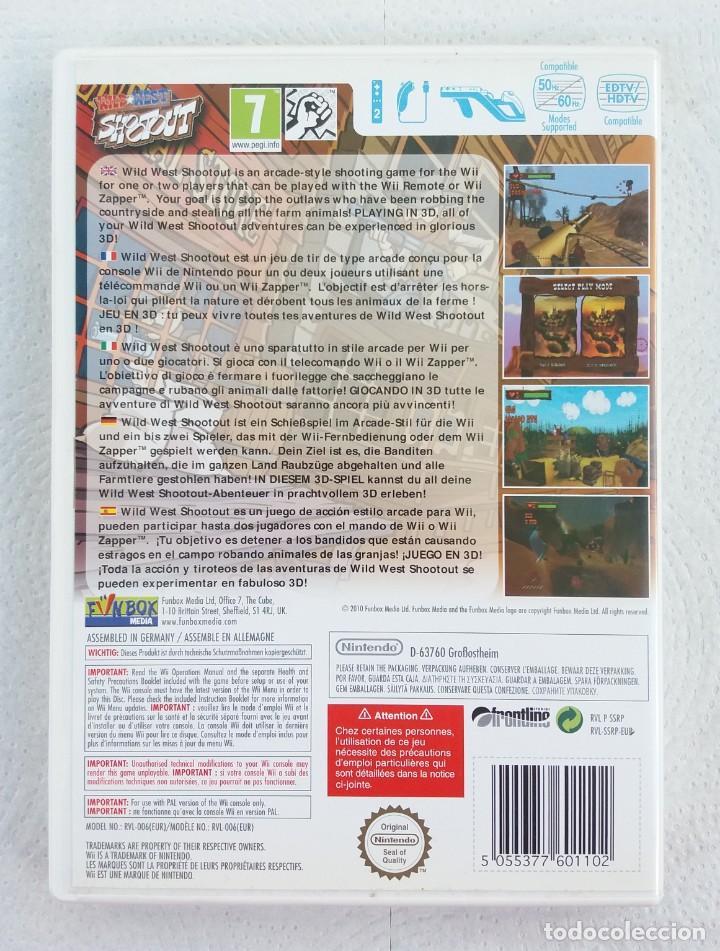 Videojuegos y Consolas: JUEGO NINTENDO Wii WILD WEST SHOOT OUT - Foto 3 - 215072492