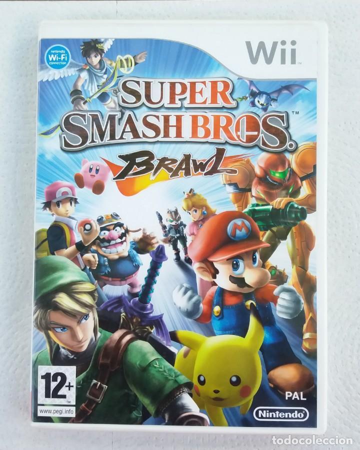 JUEGO NINTENDO WII SUPER SMASH BROS BRAWL (Juguetes - Videojuegos y Consolas - Nintendo - Wii)