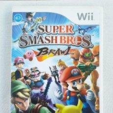 Videojuegos y Consolas: JUEGO NINTENDO WII SUPER SMASH BROS BRAWL. Lote 215073468