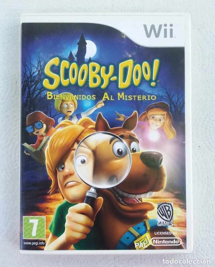 JUEGO NINTENDO WII SCOOBY DOO BIENVENIDOS AL MISTERIO (Juguetes - Videojuegos y Consolas - Nintendo - Wii)