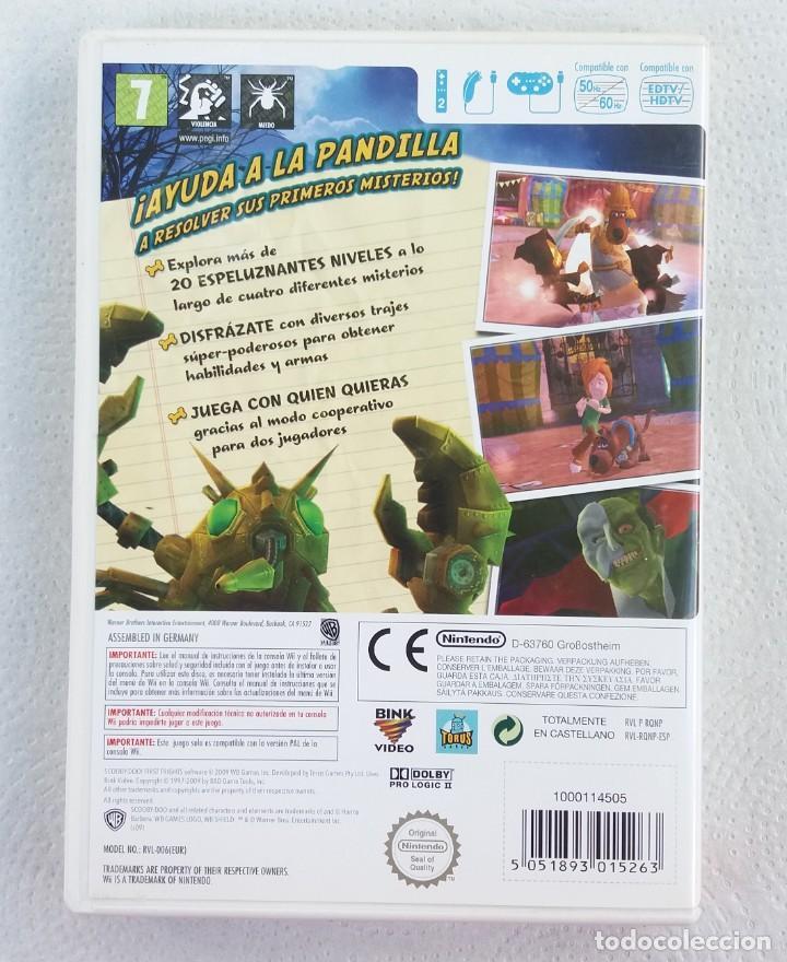 Videojuegos y Consolas: JUEGO NINTENDO Wii SCOOBY DOO BIENVENIDOS AL MISTERIO - Foto 3 - 215073905