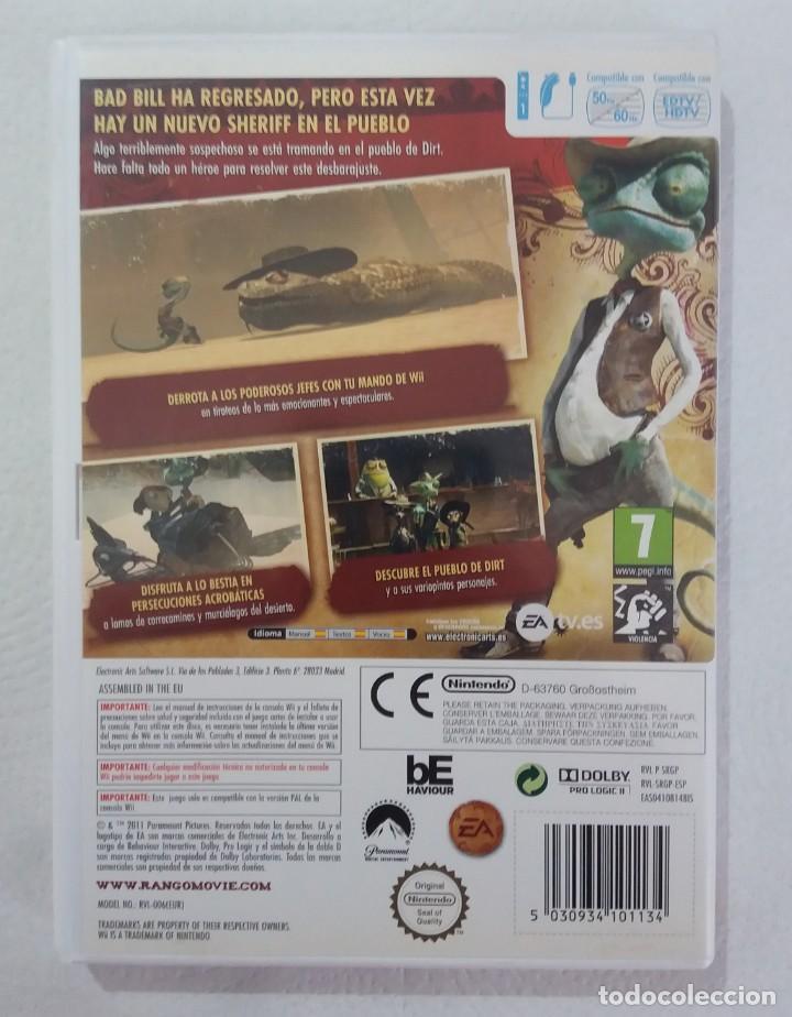 Videojuegos y Consolas: JUEGO NINTENDO Wii RANGO - Foto 3 - 215077515