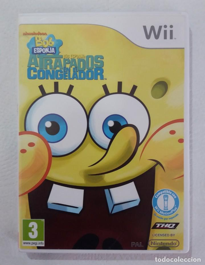 JUEGO NINTENDO WII BOB ESPONJA-ATRAPADOS EN EL CONGELADOR (Juguetes - Videojuegos y Consolas - Nintendo - Wii)