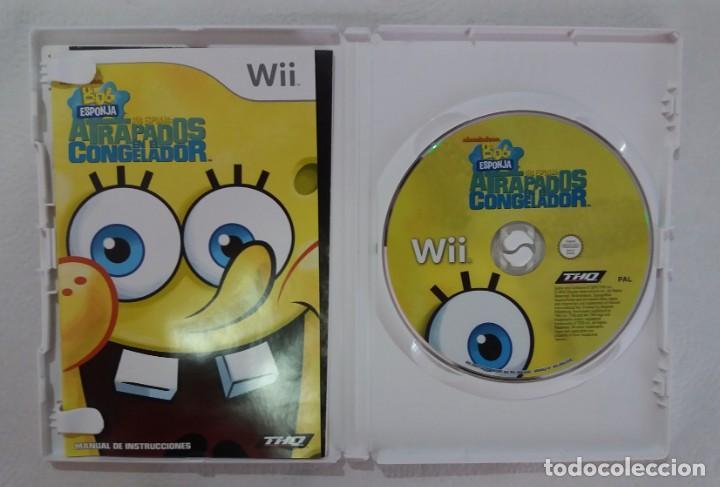 Videojuegos y Consolas: JUEGO NINTENDO Wii BOB ESPONJA-ATRAPADOS EN EL CONGELADOR - Foto 2 - 215078350