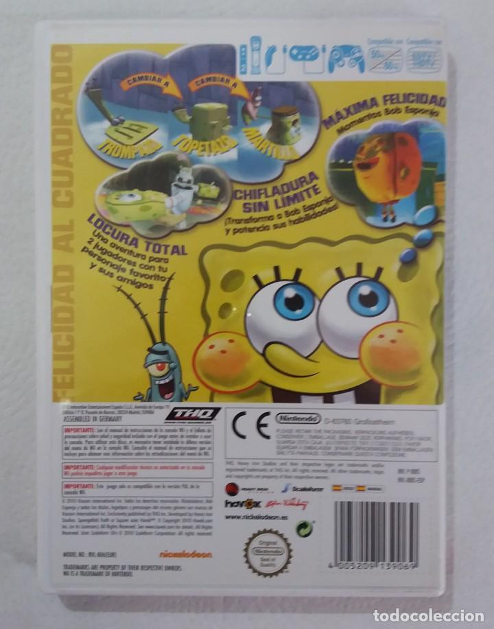 Videojuegos y Consolas: JUEGO NINTENDO Wii BOB ESPONJA-ATRAPADOS EN EL CONGELADOR - Foto 3 - 215078350