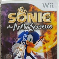 Videojuegos y Consolas: SONIC Y LOS ANILLOS SECRETOS - CD PARA WII. Lote 216367650