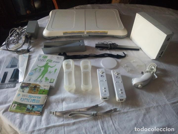 CONSOLA NINTENDO WII.SE VENDO TODO LO QUE SE VE EN LAS FOTOS. (Juguetes - Videojuegos y Consolas - Nintendo - Wii)