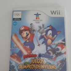 Videojuegos y Consolas: JUEGO WII MARIO & SONIC JUEGOS OLIMPICOS DE INVIERNO VANCUVER 2010. Lote 217593362