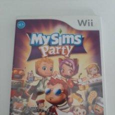 Videojuegos y Consolas: JUEGO WII MY SIMS PARTY. Lote 217593811