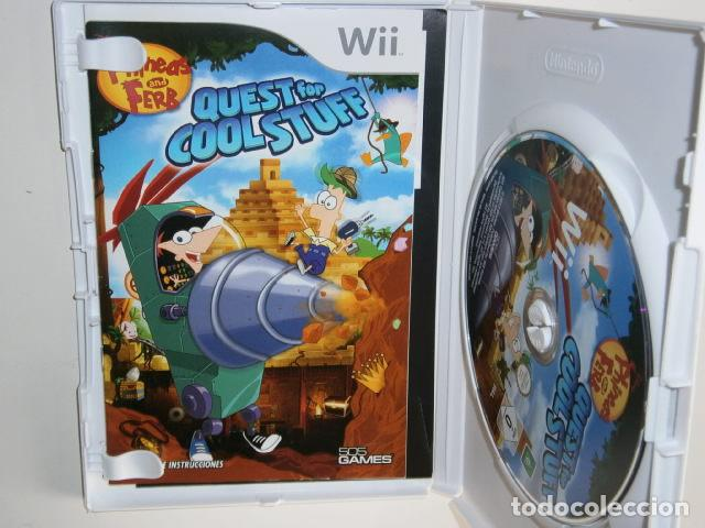 Videojuegos y Consolas: Phineas and Ferb: Quest for Cool Stuff wii - Foto 2 - 217980325