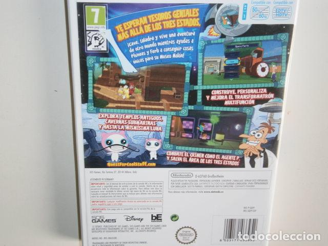 Videojuegos y Consolas: Phineas and Ferb: Quest for Cool Stuff wii - Foto 3 - 217980325