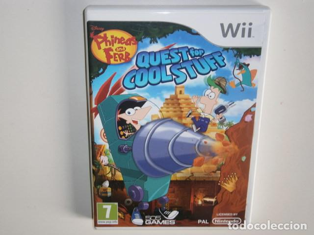 PHINEAS AND FERB: QUEST FOR COOL STUFF WII (Juguetes - Videojuegos y Consolas - Nintendo - Wii)