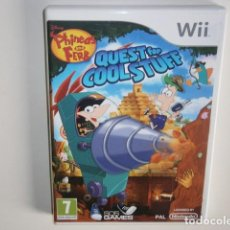 Videojuegos y Consolas: PHINEAS AND FERB: QUEST FOR COOL STUFF WII. Lote 217980325