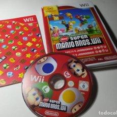 Videojuegos y Consolas: NEW SUPER MARIO BROS. WII (NINTENDO WII - WII U - PAL - ESPAÑA) COMO NUEVO!. Lote 217995261