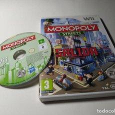 Videojuegos y Consolas: MONOPOLY STREETS (NINTENDO WII - WII U - PAL - ESPAÑA). Lote 217995367